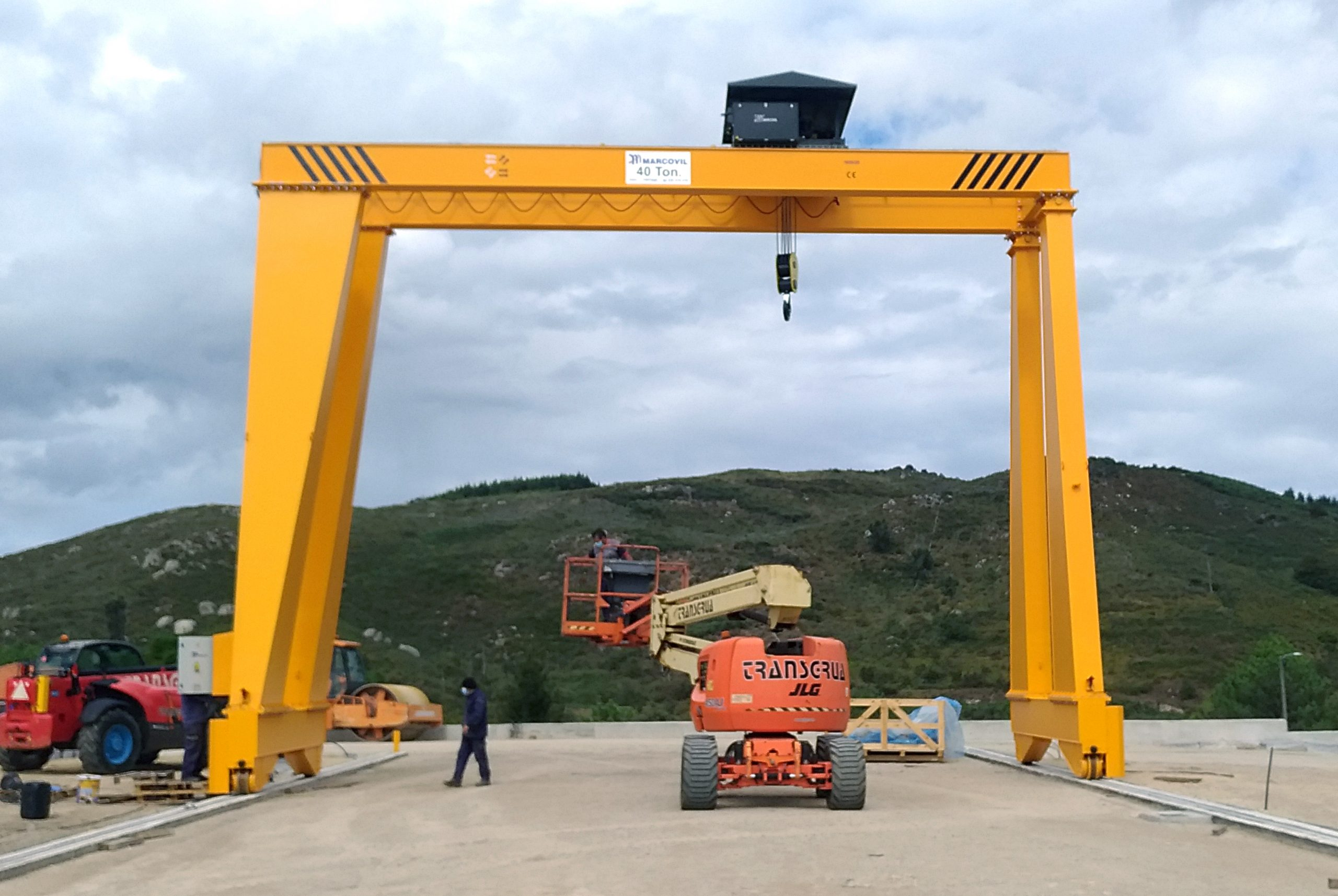 Portico biviga 40 ton_trat